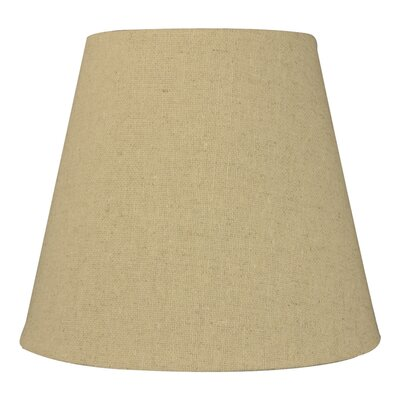 8 Linen Empire Lamp Shade Color: Sand Linen