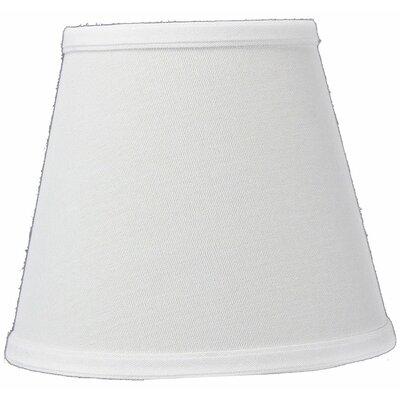 8 Linen Empire Lamp Shade Color: White Linen