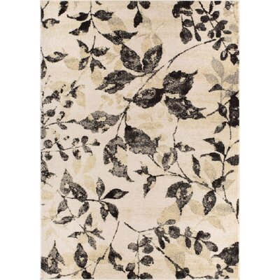 Giles Modern Ivory Area Rug Rug Size: Runner 23 x 73