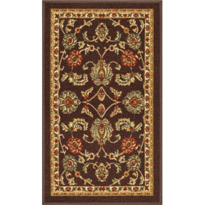 Addieville Brown Area Rug Rug Size: Rectangle 33 x 47