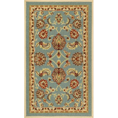 Addieville Blue Area Rug Rug Size: 3'3