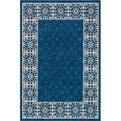 Otterville Blue Area Rug Rug Size: 5 x 7