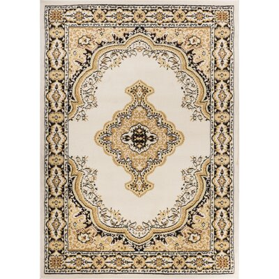 Bungalow Ivory Area Rug Rug Size: 311 x 53
