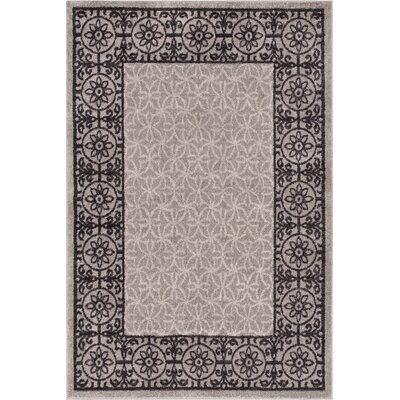 Otterville Gray Area Rug Rug Size: 710 x 910