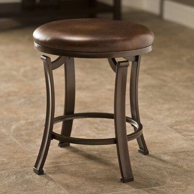 Annette Backless Vanity Stool