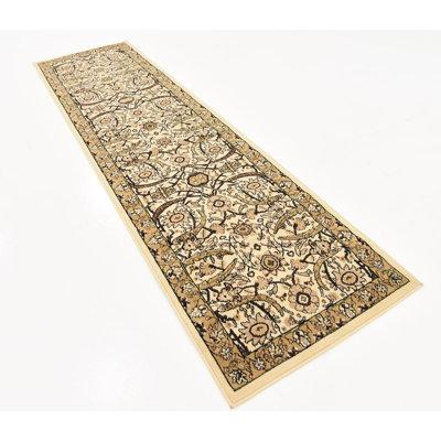Antoinette Ivory Area Rug Rug Size: Runner 27 x 10