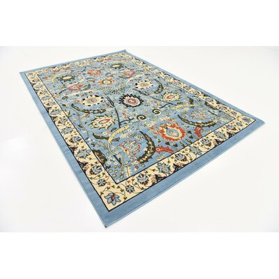 Britannia Blue Area Rug Rug Size: Rectangle 6 x 9