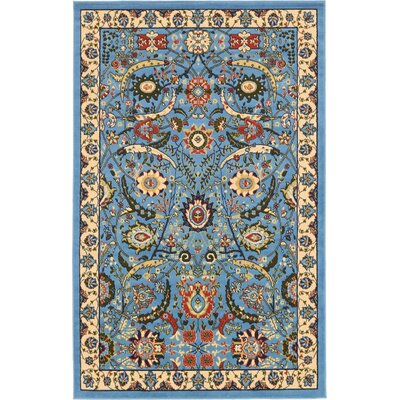 Britannia Blue Area Rug Rug Size: Rectangle 5 x 8