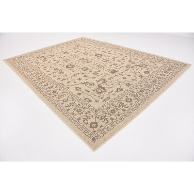 Apache Beige Outdoor Area Rug Rug Size: Rectangle 9 x 12