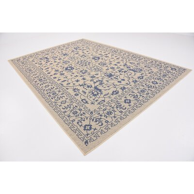 Appaloosa Beige Outdoor Area Rug Rug Size: Rectangle 8 x 114
