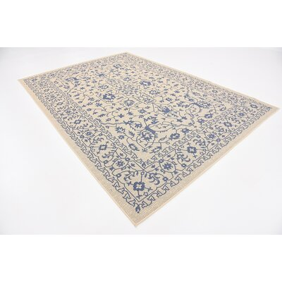 Appaloosa Beige Outdoor Area Rug Rug Size: 7 x 10