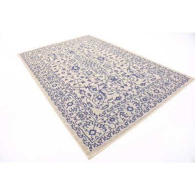 Appaloosa Beige Outdoor Area Rug Rug Size: 6 x 9