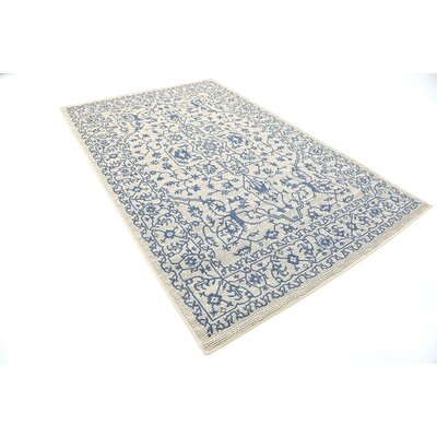 Appaloosa Beige Outdoor Area Rug Rug Size: 5 x 8