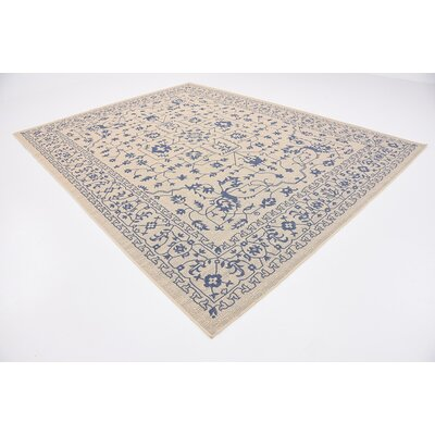 Appaloosa Beige Outdoor Area Rug Rug Size: 9 x 12