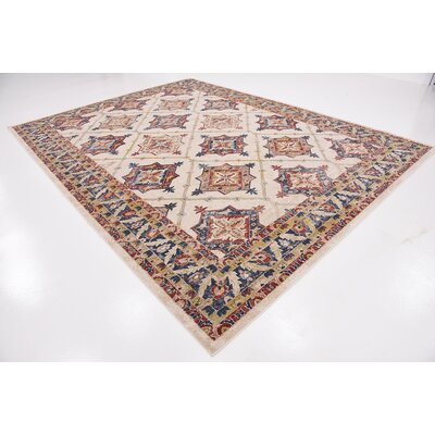 Applewood Cream Area Rug Rug Size: Rectangle 159 x 23