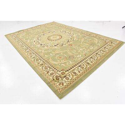 Patton Light Green Area Rug Rug Size: 8 x 114