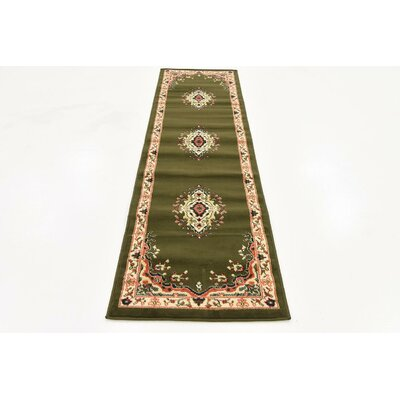 Anthony Green Area Rug Rug Size: Runner 22 x 82