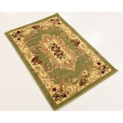 Patton Green Area Rug