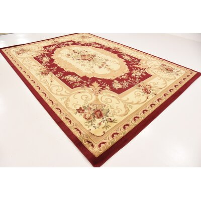 Patton Red Area Rug