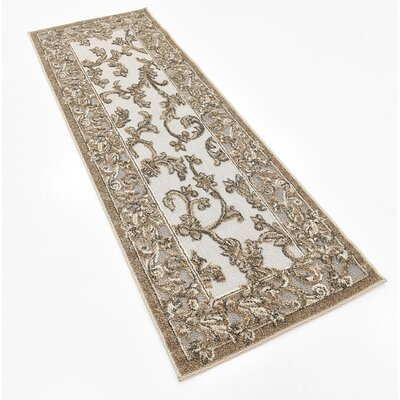 Athena Transitional Brown Indoor/Outdoor Area Rug