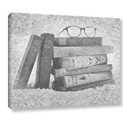 The Silent Film Graphic Art on Wrapped Canvas