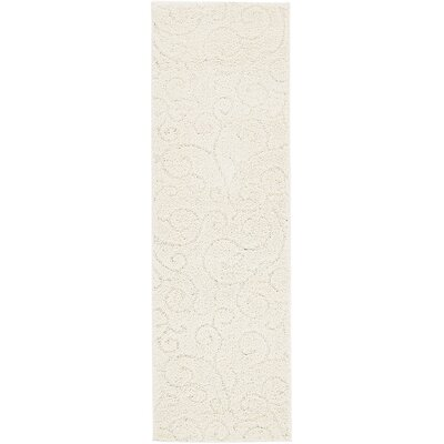 Albers Floral Ivory Area Rug Rug Size: 5 x 8