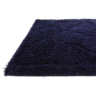 Millvale Navy Blue Area Rug Rug Size: 4 x 6