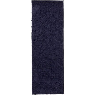 Millvale Navy Blue Area Rug Rug Size: Runner 2 x 67