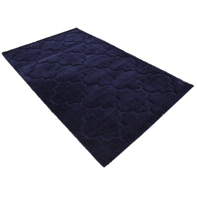 Millvale Navy Blue Area Rug Rug Size: 9 x 12