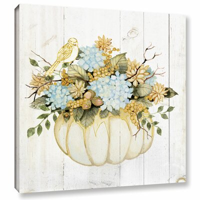 Autumn Days VII Painting Print on Wrapped Canvas