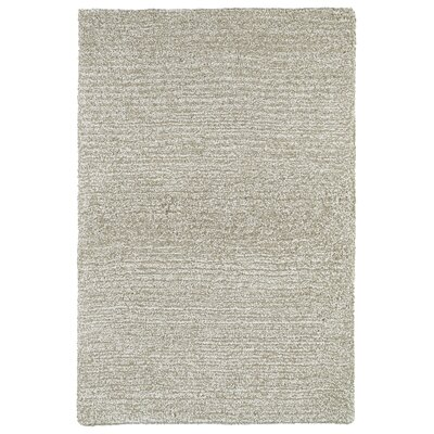 Elverson Hand Tufted Beige Area Rug Rug Size: Rectangle 36 x 56