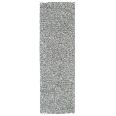 Allendale Handmade Gray Area Rug Rug Size: Runner 23 x 8