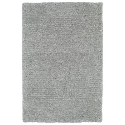 Allendale Handmade Gray Area Rug Rug Size: Rectangle 36 x 56