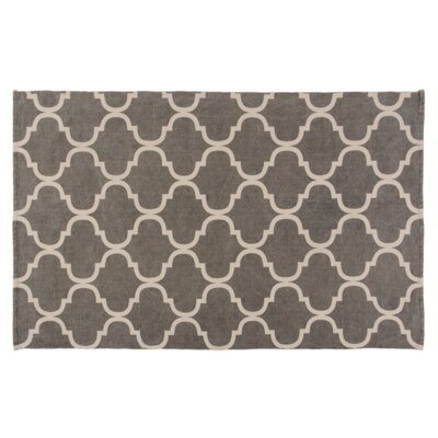 Messer Gray Area Rug Rug Size: 4 x 6