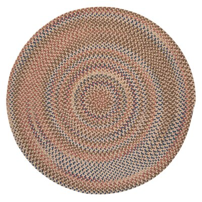 Kipton Natural Area Rug Rug Size: Round 8