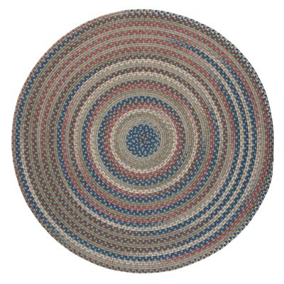 Gaylord Light Blue Area Rug Rug Size: Round 6