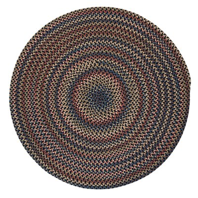 Gaylord Navy Area Rug Rug Size: Round 6