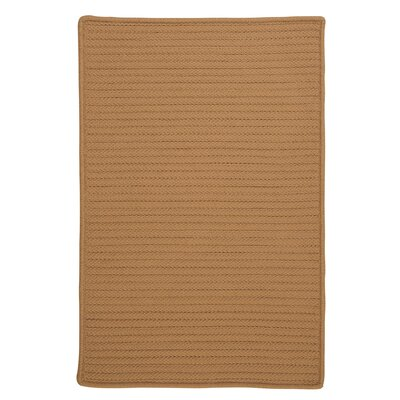 Glasgow Brown Indoor/Outdoor Area Rug Rug Size: Rectangle 4 x 6