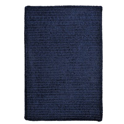 Gibbons Navy Indoor/Outdoor Area Rug Rug Size: Runner 2 x 6