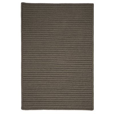Glasgow Gray Solid Indoor/Outdoor Area Rug Rug Size: 8 x 11