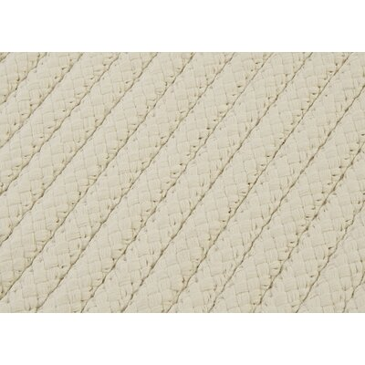 Glasgow White Indoor/Outdoor Area Rug Rug Size: Runner 2 x 12