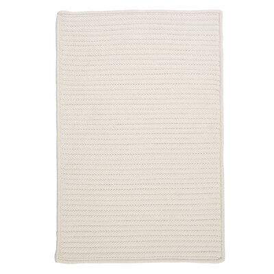 Glasgow White Indoor/Outdoor Area Rug Rug Size: Square 12
