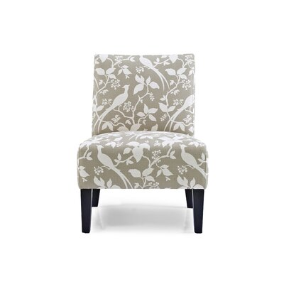 Sitka Slipper Chair Upholstery: Platinum