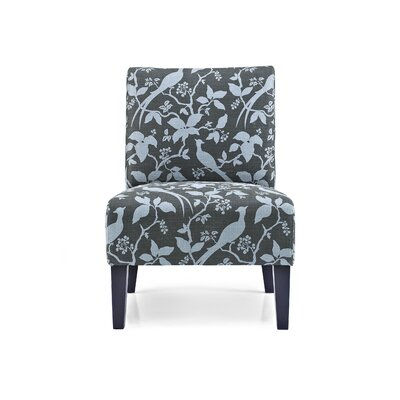 Sitka Slipper Chair Upholstery: Floral Teal