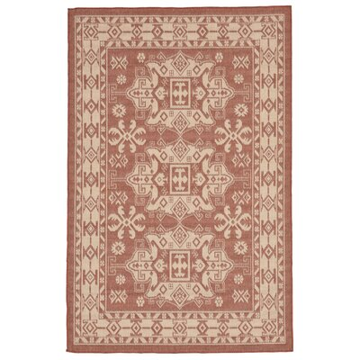 Brasstown Rust Indoor/Outdoor Area Rug Rug Size: 410 x 76