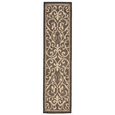 Brasstown Brown Indoor/Outdoor Area Rug Rug Size: Runner 111 x 76