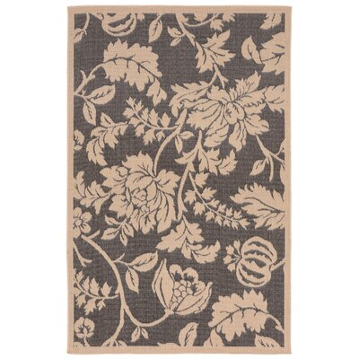 Brasstown Brown Indoor/Outdoor Area Rug Rug Size: 33 x 411