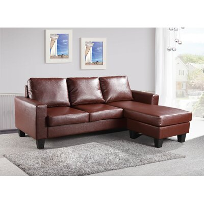 Bratton Sectional Upholstery: Chocolate