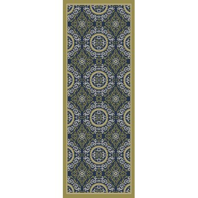 Osage Green Indoor/Outdoor Area Rug Rug Size: Rectangle 311 x 53