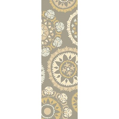 Canaan Beige/Gray Indoor/Outdoor Area Rug Rug Size: Runner 26 x 8